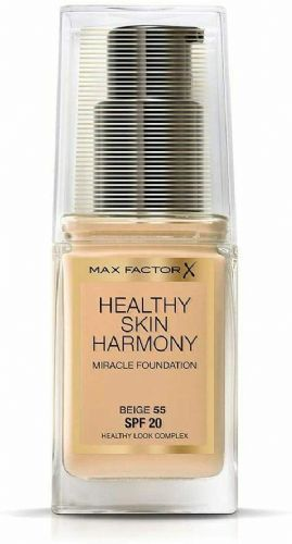 12 x Max Factor Healthy Skin Harmony Foundation | Beige 55 | RRP £30 | Full Size